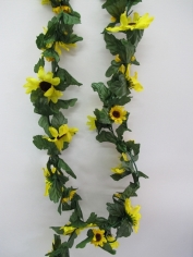 Artificial Sunflower Vine - Yellow