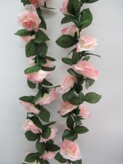 Artificial Rose Flower Vine - Pink