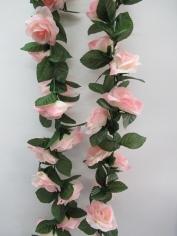 Artificial Rose Flower Vine - Pink