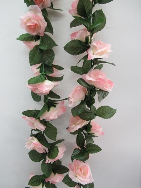 Artificial Rose Flower Vine Pink