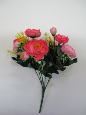 Pink Rose - Artificial Flowers