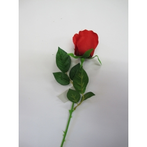 Single Red Rose - Artificial Flowers