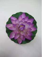 Large Lotus Purple - Artificial Flowers