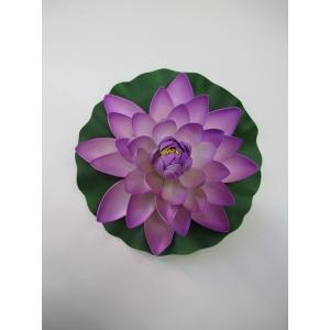 Large Lotus Purple - Artificial Flowers