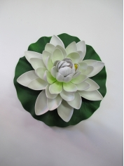 Large Lotus White - Artificial Flowers