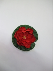 Medium Lotus Red - Artificial Flowers