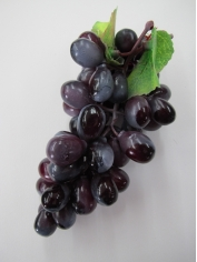 Purple Grapes - Fake Fruit