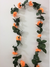 Orange Flower Vines - Artificial Flowers