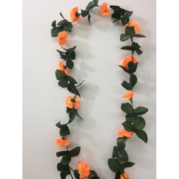 Orange Flower Vines Artificial Flowers