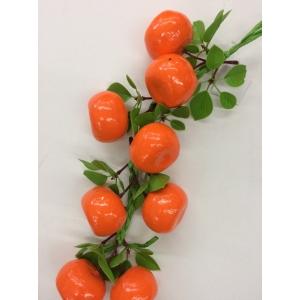 Mandarin on String - Fake Fruit