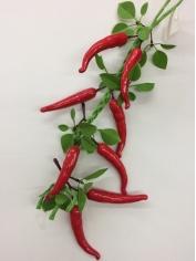 Large Chili on String - Fake Fruit