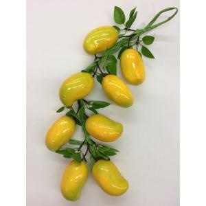 Mango on String - Fake Fruit