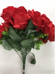 Large Red Rose - Artificial Flowers