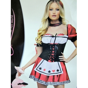 Alice Costume Red