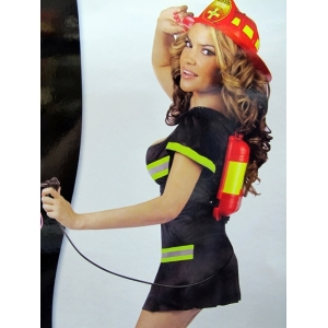 Firewoman Adult Costume