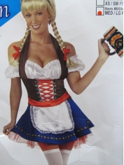 Blue Beer Girl - Oktoberfest Costumes