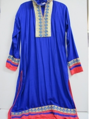 Blue Bollywood Costume - Womens Costumes