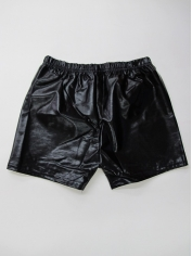 Black Metallic Shorts