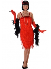 20's Red Flapper - Women's Costumes