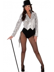 Silver Showgirl - Women's Costumes