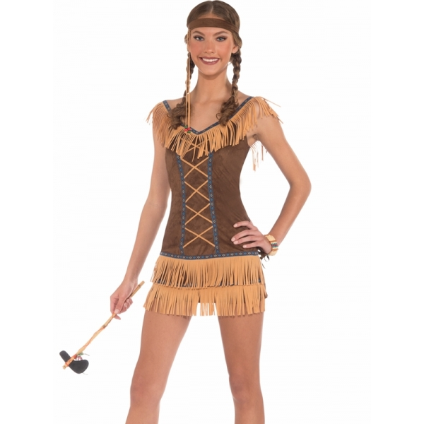 Sexy Native Indian Girl - Women Costumes-2924