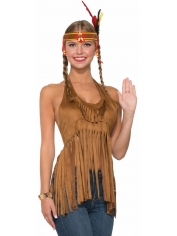 Fringed Top - Women's Hippie Costumes