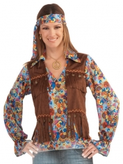 Female Hippie Groovy Set - Women's Hippie Costumes