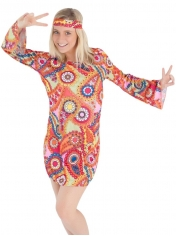 Girl Hippie Dress - Women's Hippie Costumes