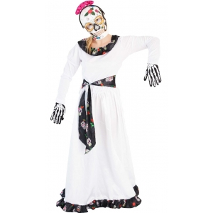 Day of the Dead Dress - Halloween Women's Costumes