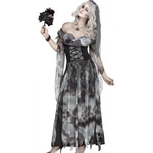 Cemetery Bride - Halloween Women Costumes
