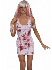 Bloody Dress - Halloween Women's Costumes