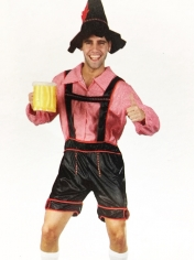 Bavarian Man Red - Oktoberfest Costumes