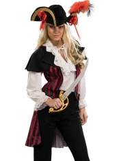 Deluxe Lady Pirate - Women's Pirate Costumes