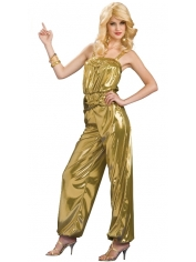Solid Gold Diva - Women's Disco Costume
