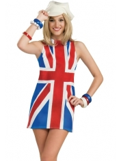 British Union Jack Dress Costumes