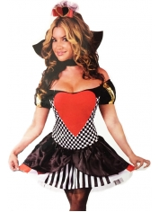 Queen of Hearts Womens Costume