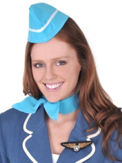 Air Hostess Costume Set - Headpiece