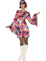 GO GO Girl - Women 60's Hippie Costumes
