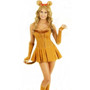 Lion - Woman Magician Circus Costumes