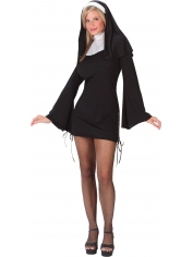 Sexy Naughty Nun - Women's Costumes