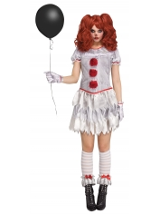 Carnevil Clown - Halloween Women Costumes