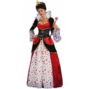 Queen of Hearts - Women Fairy Tales Costumes