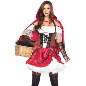 Rebel Riding Hood - Halloween Women Costumes