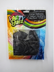 Large Balloons - Black