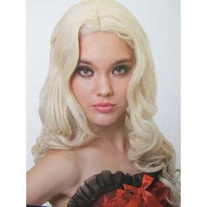 Long Curly Wigs Blonde Women