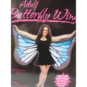 Blue Adult Butterfly Wing