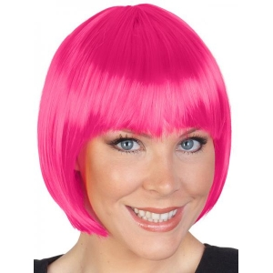 Pink Bob Wig