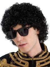 Afro Deluxe Short Black Wig