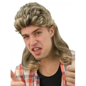 Billy Brown Blonde Mullet Wig