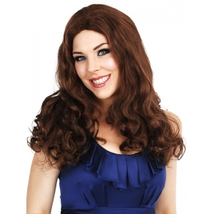 Catherine Long Brown Wig